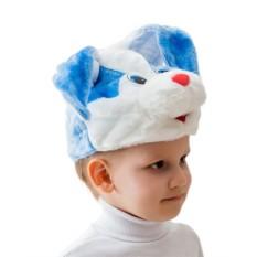 Карнавальная шапочка Кролик-мальчик