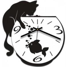 Настенные часы Кошачий инстинкт