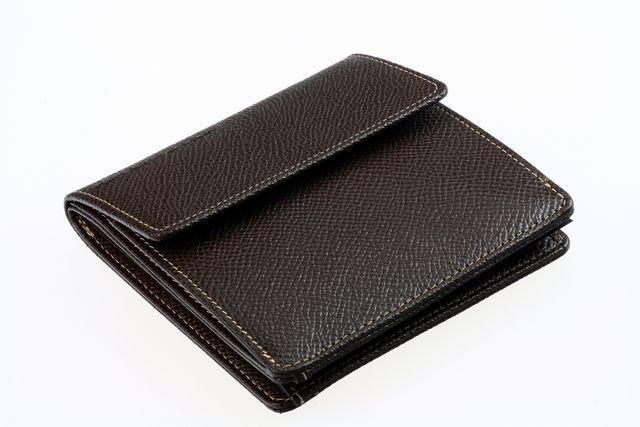 Кошелек Porshe Design F6, темно-коричневый