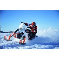 Сафари на 1-местном снегоходе для одного (120 минут)
