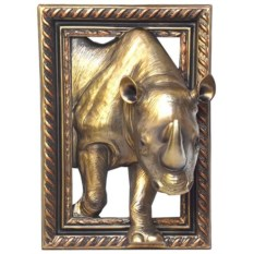 Декоративная композиция Носорог