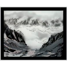 Картина Swarovski Горный пейзаж