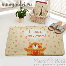 Антискользящий коврик Любимой маме