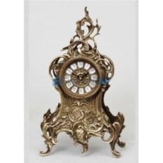 Каминные часы из бронзы Лорена