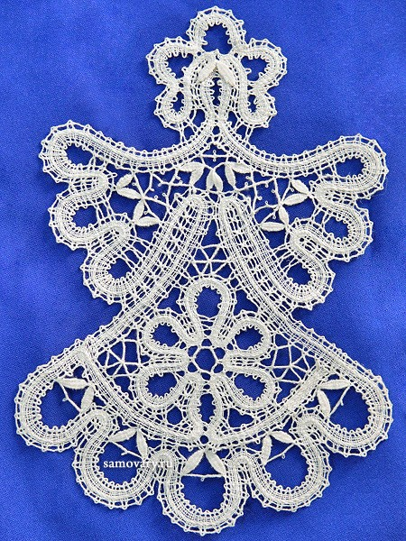 Сувенир из Вологодского кружева Матрешка