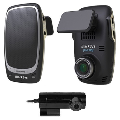 Автомобильный видеорегистратор Full-HD BlackSys CF-100 2CH