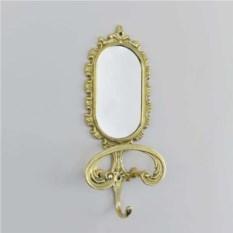 Настенная вешалка с зеркалом в прихожую