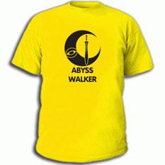 Купить Футболку с надписью Dark Elf Fighter - Abyss Walker артикул 473.