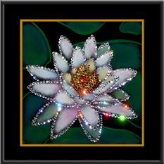 Картина с кристаллами Лотос