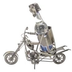 Подставка для бутылки Мотоциклист