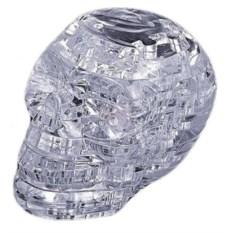 Головоломка 3D с подсветкой Череп (цвет: прозрачный)