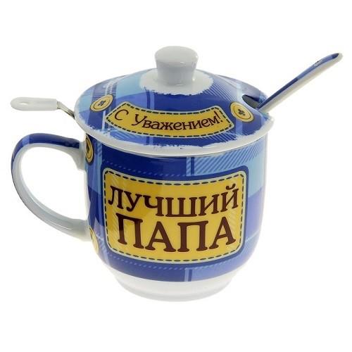 Набор для чая Лучший папа