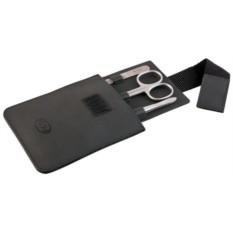 Маникюрный набор Dovo из 3 предметов (цвет — черный)