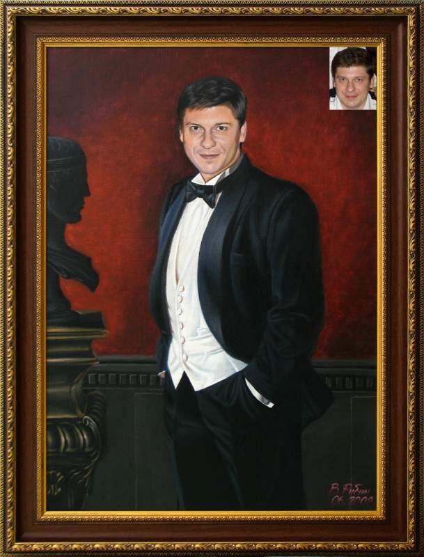 Портрет дипломатическому работнику