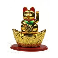Японский талисман на подставке Кот удачи