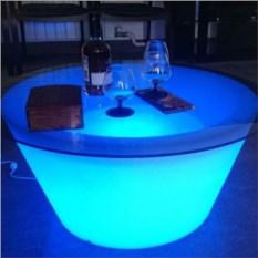 Приставной светящийся столик Гинза