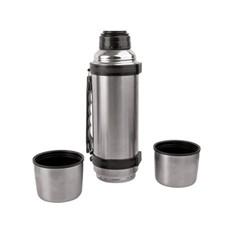Термос на 750 мл с ручкой и двумя крышками «Чай вдвоем»