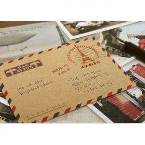 Винтажный конверт Paris