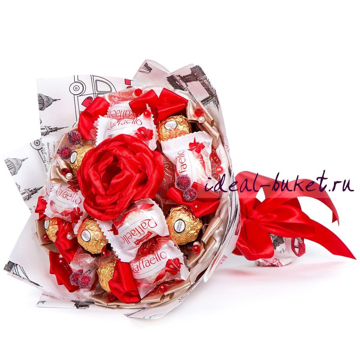 Букеты из конфет как подарок 681