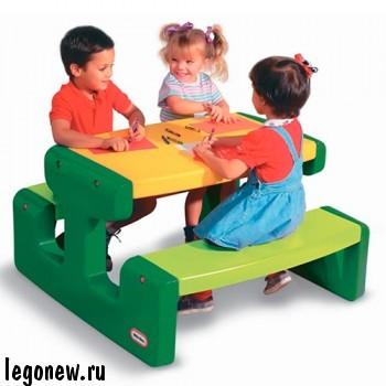 Большой стол для пикника Little Tikes