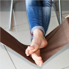 Эко гамак для ног в коробке (серый)