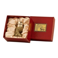 Стопка-перевертыш в подарочной коробке Кабан