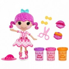 Кукла Лалалупси c волосами из теста