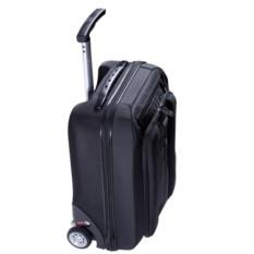 Черный чемодан на колесах Sky partner 2 in 1