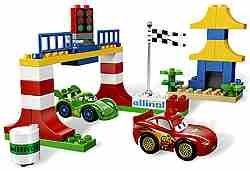 Конструктор Lego Дупло Тачки 2. Токийские гонки