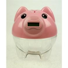 Копилка считающая монеты Свинка