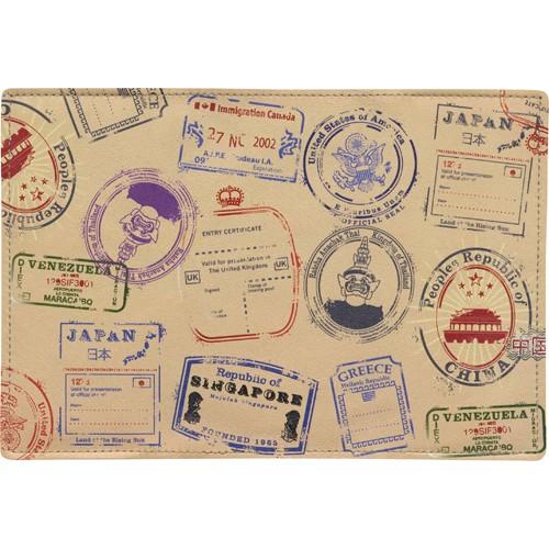 Обложка кожаная на паспорт / загранпаспорт