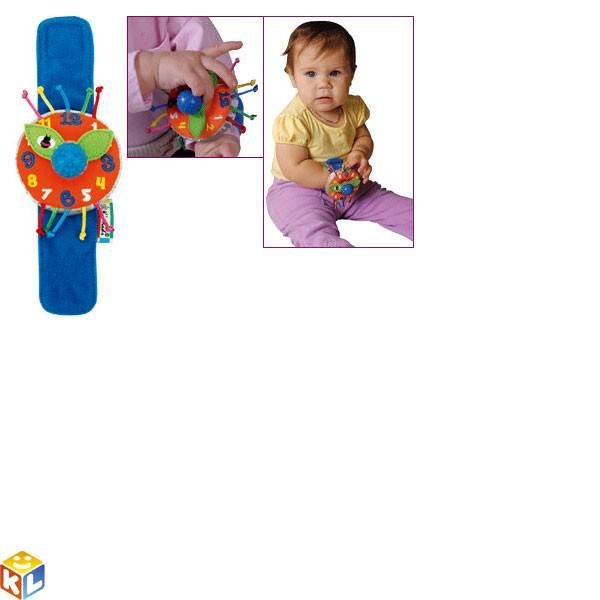 Мягкие наручные часики Мои первые часы Ks kids