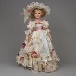 Коллекционная кукла «Лена»