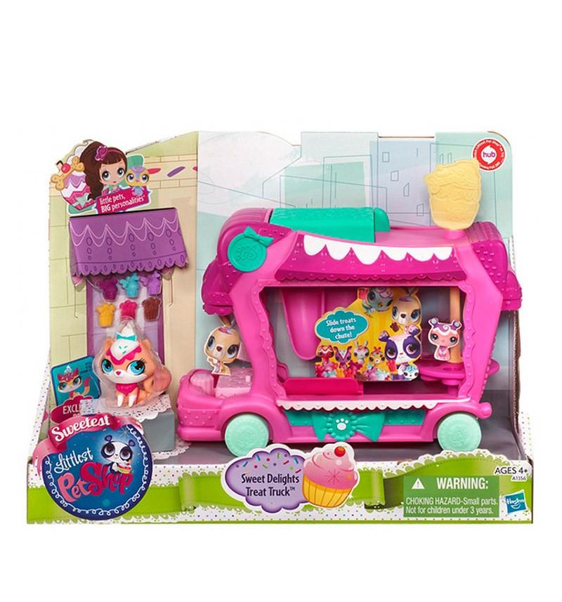 Игровой набор Грузовик сладостей, Littlest Pet Shop
