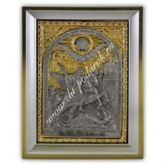 Икона Георгий Победоносец (размер 130х170х20 мм)