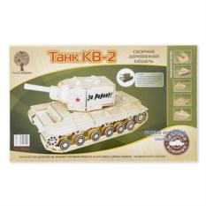 Сборная модель танка КВ-2