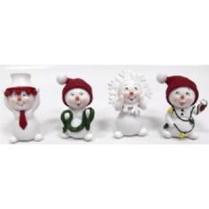 Новогодний сувенир Снеговики