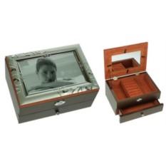 Шкатулка-фоторамка ювелирная MORETTO 2-х ярусная