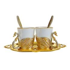 Кофейный набор Лебеди