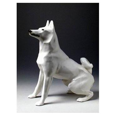 Анималистическая скульптура «Лайка»