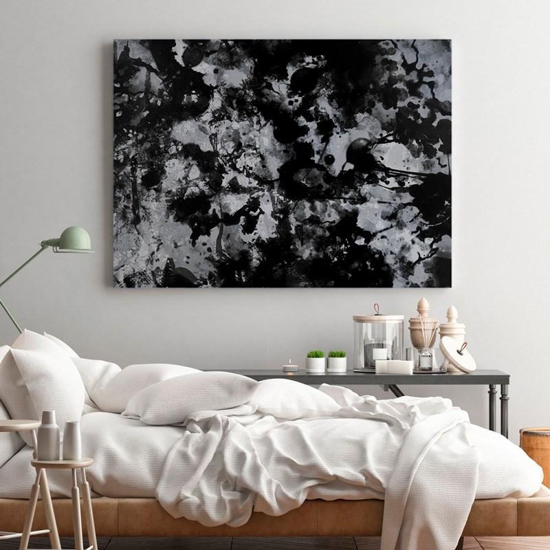 Набор абстрактной живописи Love as Art (Black Silver)