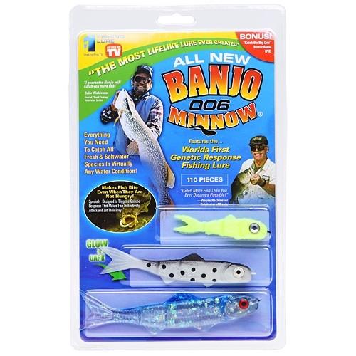 Набор приманок для ловли хищной рыбы Banjo 006 Minnow