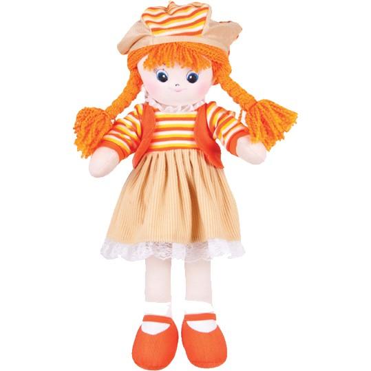 Мягкая игрушка Gulliver Апельсинка с двумя косичками