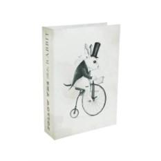 Сейф-книга Следуй за белым кроликом