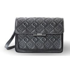 Женская сумка «Фантазия» (цвет — графитовый)