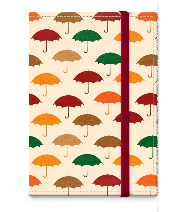 Обложка на паспорт Зонты