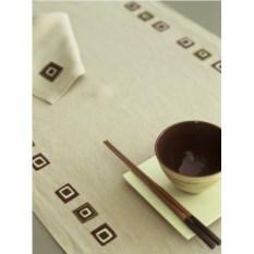 Дорожка на стол и салфетки Catherine Denoual Maison Лен
