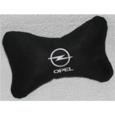 Черная подушка-подголовник Opel