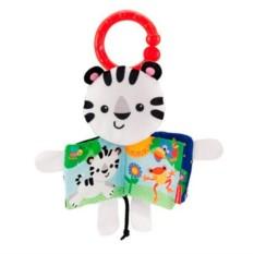 Развивающая мягкая книжка Fisher-Price Белый тигр Mattel