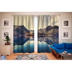 Фотошторы Озеро в Норвегии